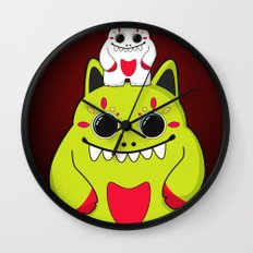 Bad & Mad Wall Clock