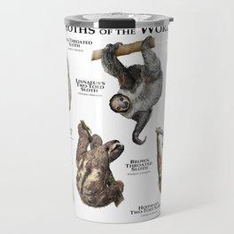 Sloths of the World Travel Mug
