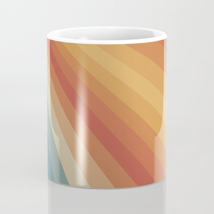 Retro 70s Sunrays Coffee Mug