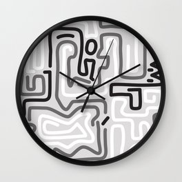 Tokyo Mon Amour - Winter Wall Clock