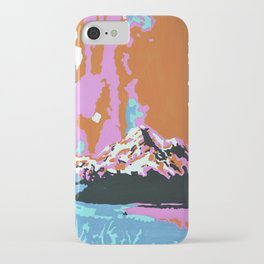 Liquid Sunshine In The Mountains iPhone Case
