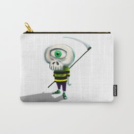 One eye casual skeleton Carry-All Pouch