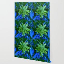 Lime Green Sumac Bloom Wallpaper