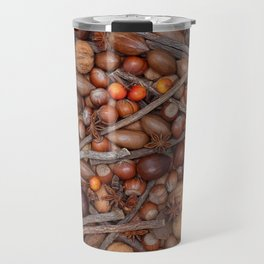 Festive nuts and spices Travel Mug