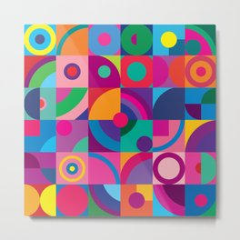 Colorful optical 2. Metal Print