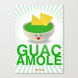 GUACAMOLE Canvas Print