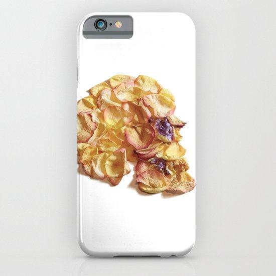 60. Flower Skull iPhone & iPod Case