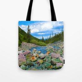Geraldine Lakes Hike in Jasper National Park, Canada Tote Bag