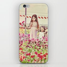"""If You Look The Right Way, You Can See That The Whole World Is A Garden"" iPhone Skin"