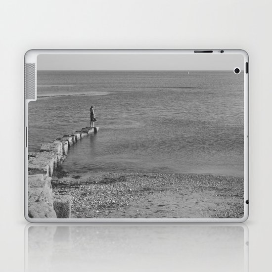 come sail your ships... Laptop & iPad Skin