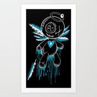 VooDoo Angel Art Print