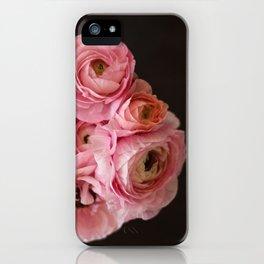 Gorgeous Pink Ranunculus iPhone Case