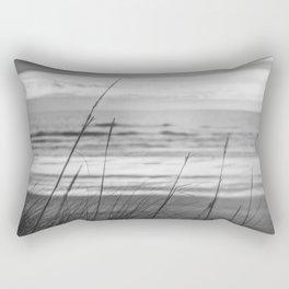 Black and White Ocean Dream Rectangular Pillow