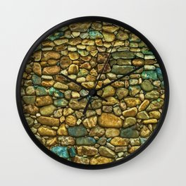 Natural Rock Wall Art Design Wall Clock
