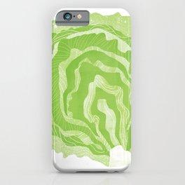 Lettuce Illustration iPhone Case