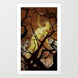 Actaeon Art Print