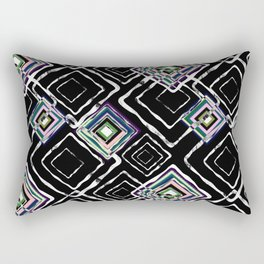Colorful geometric pattern.2 Rectangular Pillow