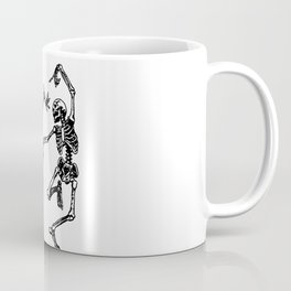Duo Dancing Skeleton Coffee Mug
