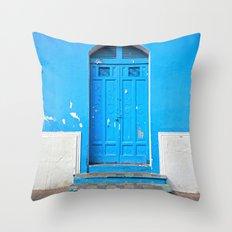 Superazul Throw Pillow