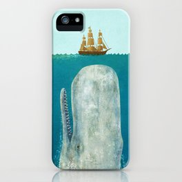 The Whale iPhone Case