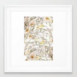 Marble - All Framed Art Print