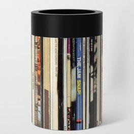 Classic Rock Vinyl Records Can Cooler