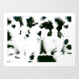 HIDE IN PLAIN SIGHT Art Print