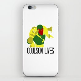 Agent Coulson, My One Good Eye. iPhone Skin