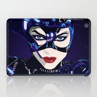 catwoman iPad Cases featuring Catwoman  by Jordi Hayman Design