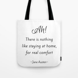 Jane Austen - Home Tote Bag