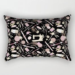 Stitch Witch (Rose) Rectangular Pillow