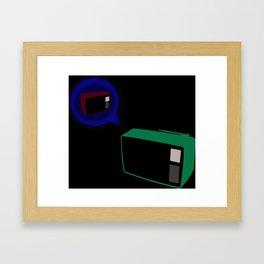 True TV Love Framed Art Print