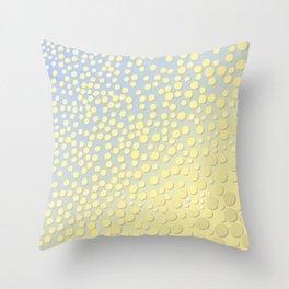 Yella Throw Pillow