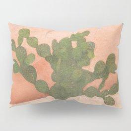 Strong Desert Cactus Pillow Sham