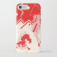 kenzo iPhone & iPod Cases featuring Planet KENZO by Nat Janin