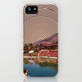 Illusionary Pool iPhone Case