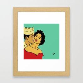 Carmen and her fool Framed Art Print