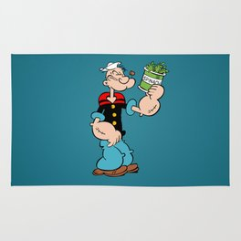 Popeye the Sailor Man Rug