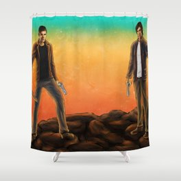 Supernatural Hunters Shower Curtain