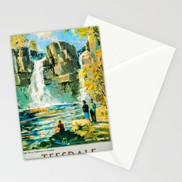 vintage placard Teesdale Stationery Cards