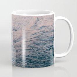Pink Sunset Waves Coffee Mug