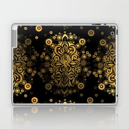 Sea treasure (gold) Laptop & iPad Skin
