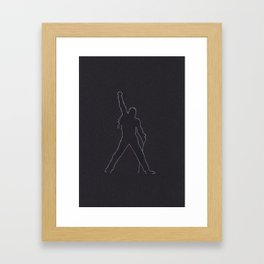 Ready Freddie Framed Art Print