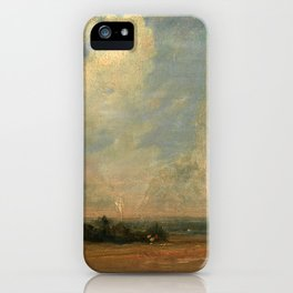 """John Constable """"A View from Hampstead Heath"""" iPhone Case"""