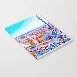 Park Guell Watercolor painting Notebook