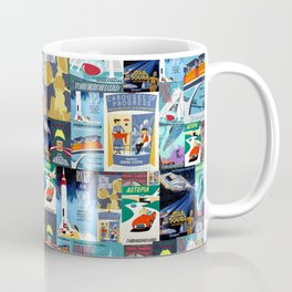 Tomorrowland Vintage Attraction Posters Coffee Mug