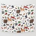 Wild Woodland Animals by isabellesykes