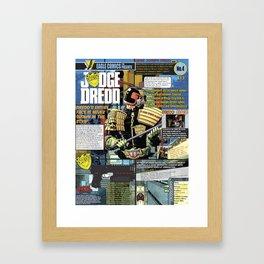 JD InfoGraphic Framed Art Print
