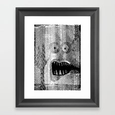 Copy Monster Framed Art Print
