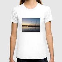 greece T-shirts featuring Piraceus - Greece by Louise